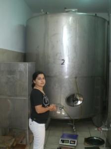 Lagertank für Olivenöl