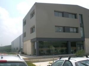 Ansicht Bürogebäude Terra Creta