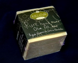 handgefertigte Olivenseife