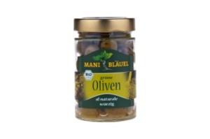 Mani Bläuel grüne Oliven