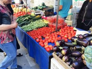Tomaten, Gurken, Auberginen