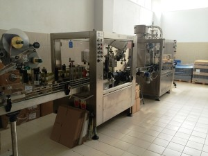 Abfüllung Bio Olivenöl